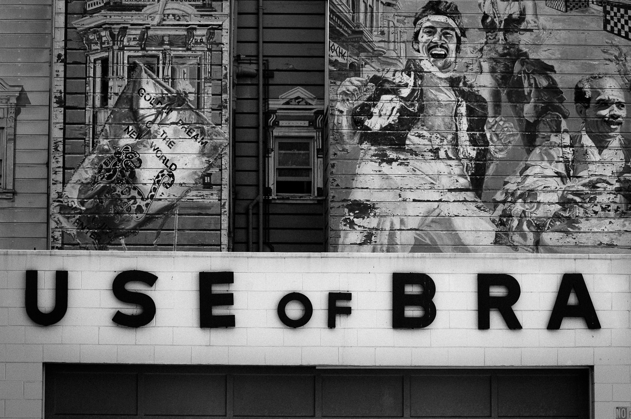Signage and Street Art in the Mission District of San Francisco