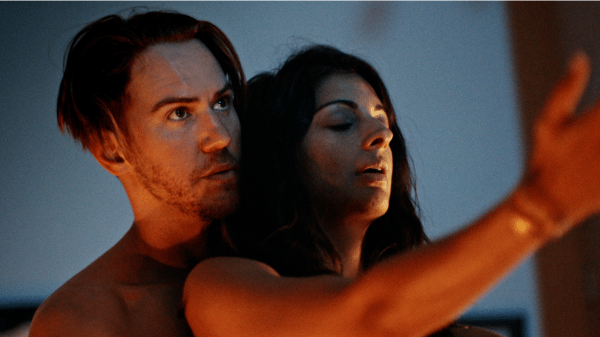 Wes Ramsey and Meera Rohit Kumbhani in Perception