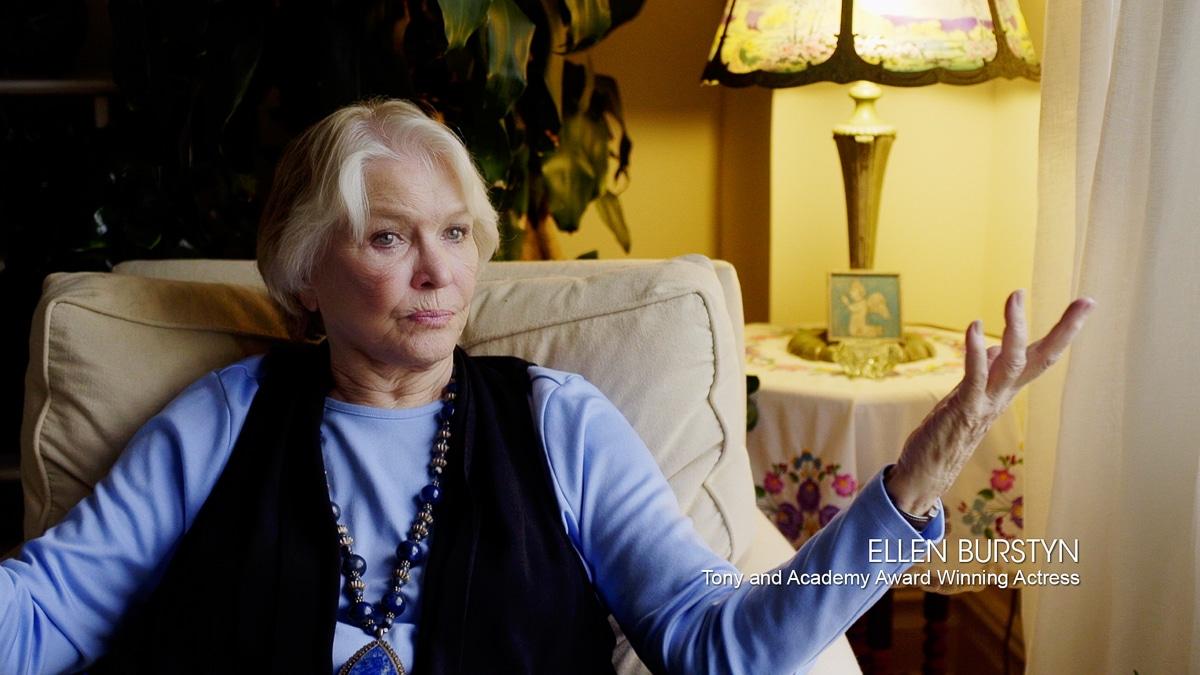 Ellen Burstyn in the documentary film Steven Arnold Heavenly Bodies